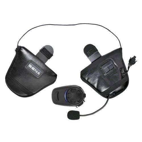 Sena Bluetooth Headset Intercom with FM Tuner for Half Helmets