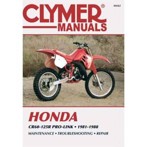 Clymer Repair Manual - Honda - CR60-125R Pro-Link - M442
