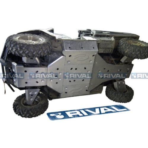 Rival Rear A-Arm CV Guards for Polaris Ranger 570 Midsize - 24.7418.1-6