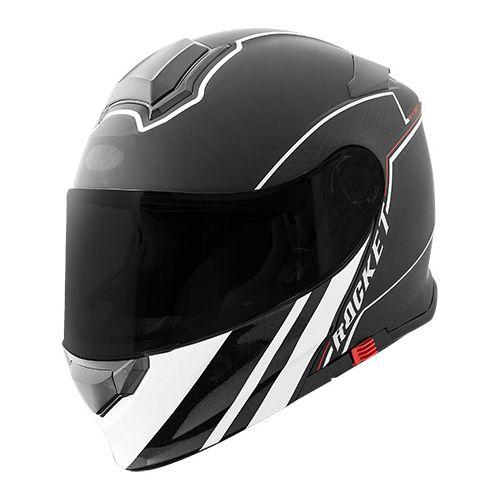 Joe Rocket RKT 18-Series Alter Ego Modular Single Lens Motorcycle Helmet