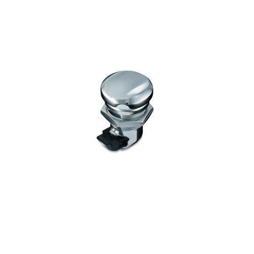 Kuryakyn Push Button Fuel Door Latch for Harley-Davidson - 1467