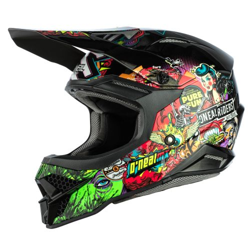 O'Neal 3 Series Crank MX Helmet