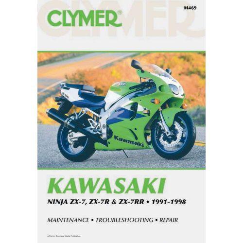 Clymer Repair Manual - Honda - Ninja ZX-7 & ZX-7R &ZX-7RR - M469