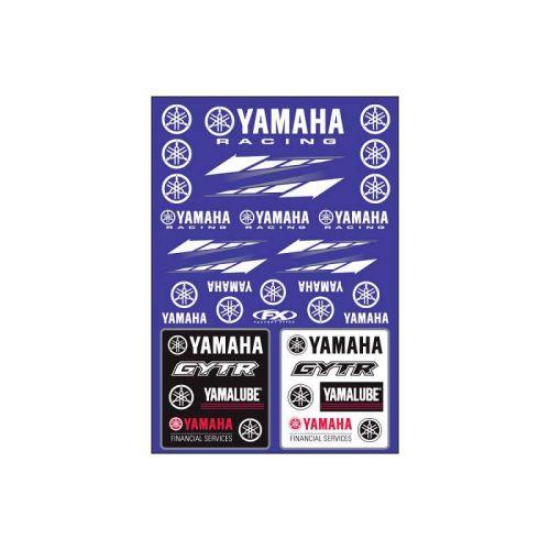 Factory Effex Yamaha Racing Sticker Sheet