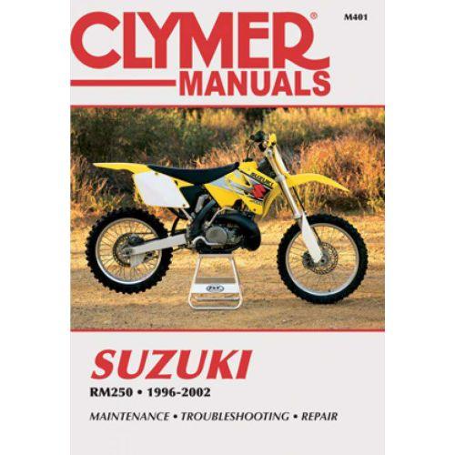 Clymer Repair Manual - Suzuki - RM250 - M260-3