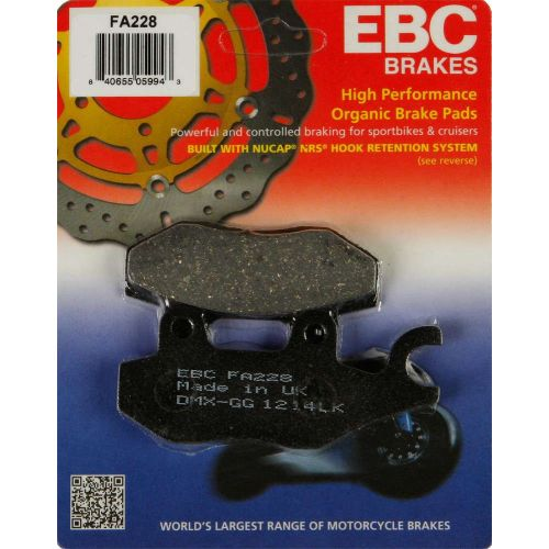 EBC Brake Pad Set  - FA228