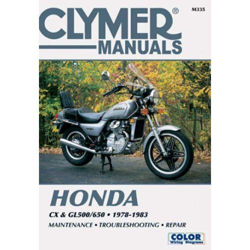 Clymer Repair Manual - Honda - CX & GL500/650 - M335