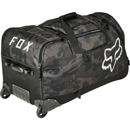 Fox Racing Black Camo Shuttle Roller Bag