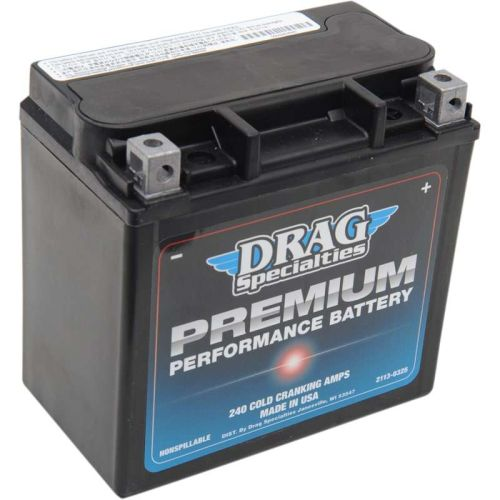 Drag Specialties Premium Performance Battery