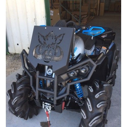 Wild Boar Rad Relocation Kit w/ Bumper for Can-Am - 3978