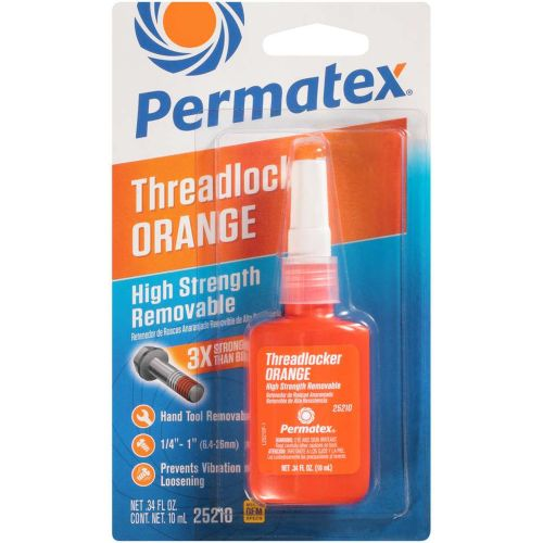 Permatex High Strength Removable Threadlocker - 10mL