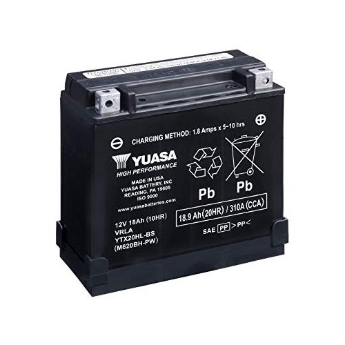 Yuasa Battery - YTX20HL-BS-PW