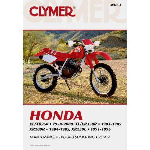 Clymer Repair Manual - Honda - XL/XR250 & XL/XR350R & XR200R & XR250L - M328-4