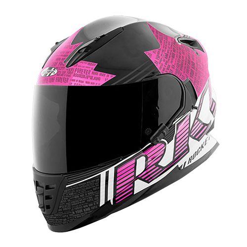 Joe Rocket RKT 16-Series Maple Leaf Forever Single Lens Motorcycle Helmet