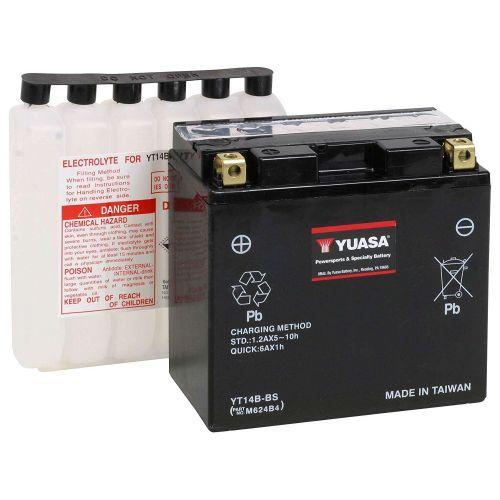 Yuasa Battery for Yamaha -  YT14B-BS